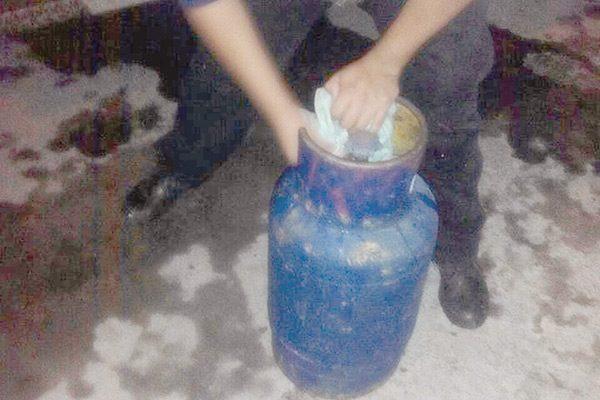 Fuga de gas de un cilindro en la colonia Ladrillera