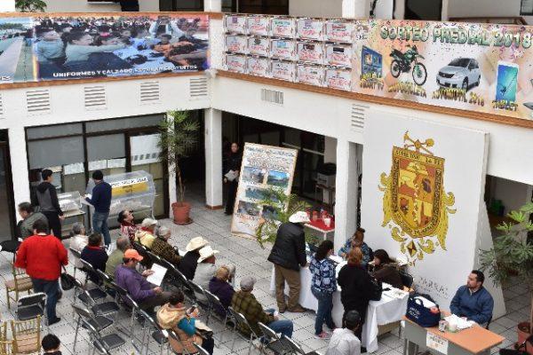 El Municipio implementará jornadas de cobro sabatino para el pago del Predial 2018.