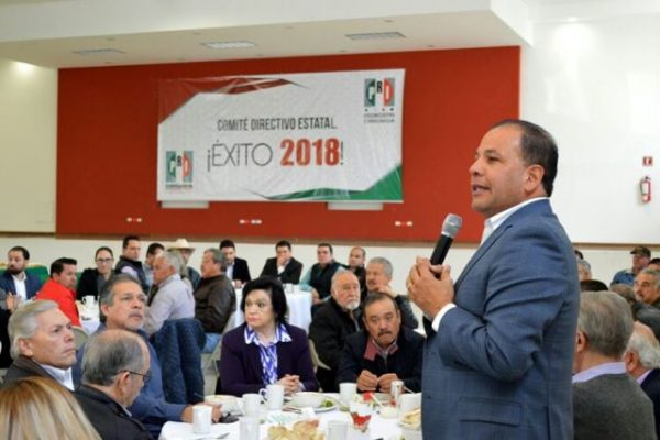 Tocamos fondo pero el PRI de Chihuahua va por el sendero del triunfo: Fernando Moreno Peña