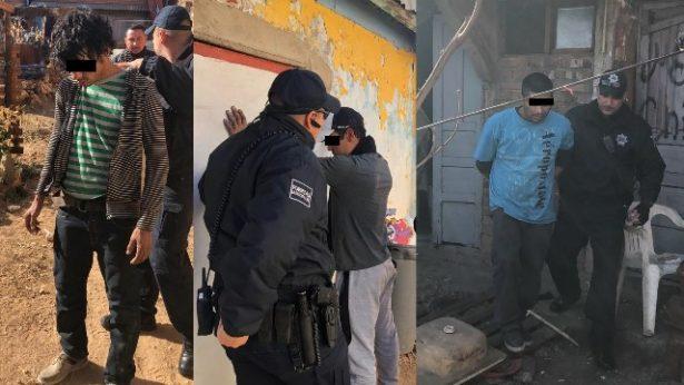 """Tres detenidos en """"picadero"""" en la calle verano"""