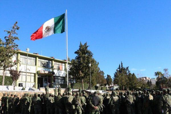 Arriban 700 soldados del centro del país al 76 batallón de infantería