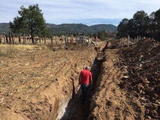 Rehabilitan drenaje en Baborigame