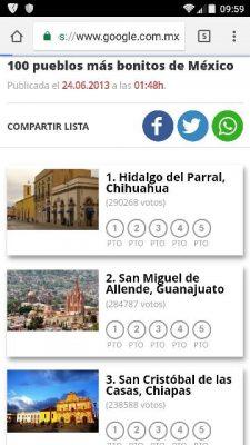 Sube parral al primer lugar de los 100 pueblos más bonitos de México
