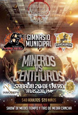 """""""Mineros"""" de Parral debuta con visita en Villa Ahumada y mañana se presenta en casa contra Centauros."""