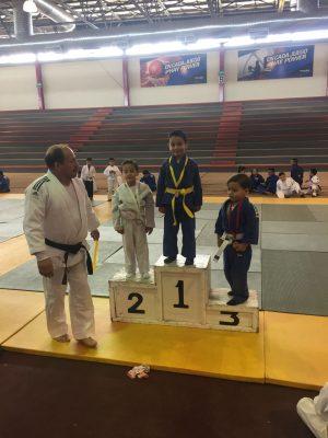 """Gran éxito el torneo """"captando talentos"""", de judo infantil 2017"""
