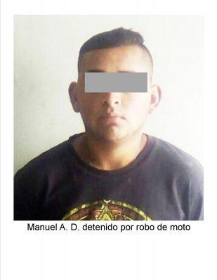 Recuperan motocicleta con reporte de robo en Allende