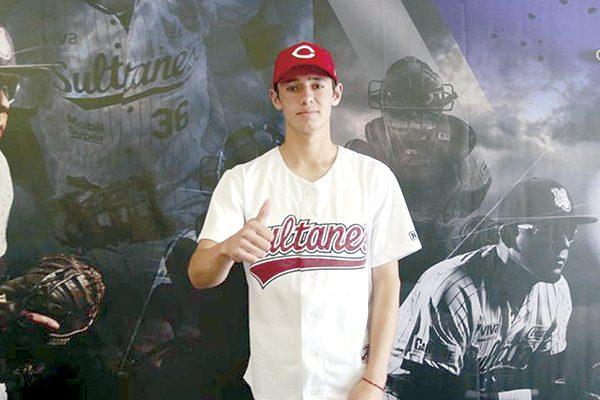 El parralense Rafael Franco Jáuregui, nuevo jugador de Rojos de Cincinnati