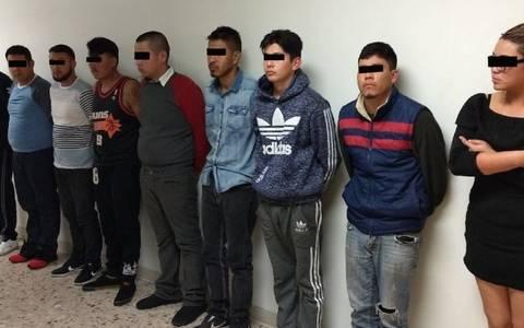 """Detienen a 10 de """"La Línea"""" que trabajan para policía municipal en Chihuahua"""