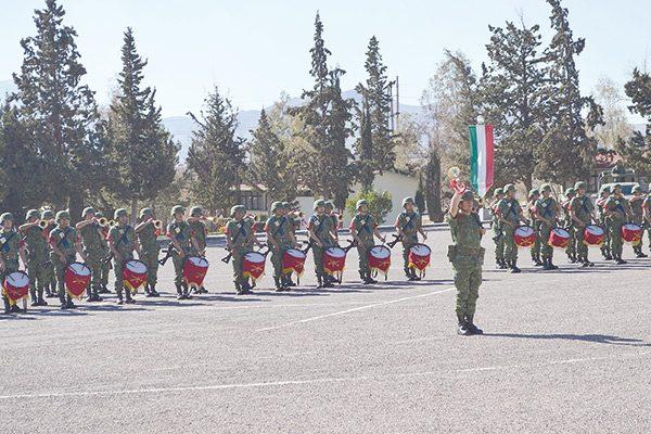 Banda de Guerra del 76 Batallón gana segundo lugar en concurso