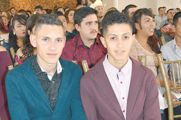 Erick y Genaro decidieron estar juntos el resto de sus vidas