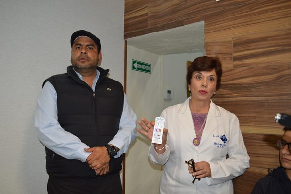 Reta Martínez al Alcalde  a antidoping; salió negativo