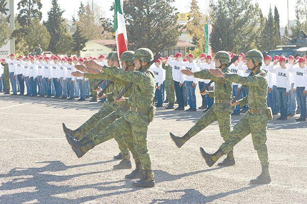 Inician servicio militar 204 jóvenes de la región
