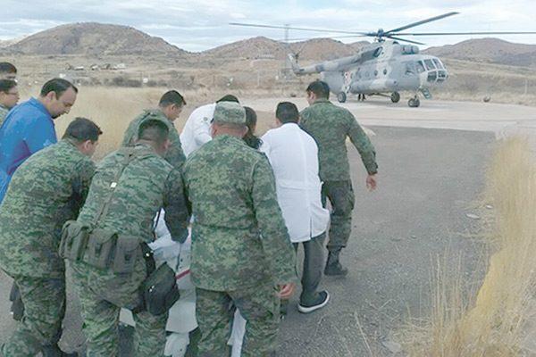 Se accidentan militares; 5 heridos