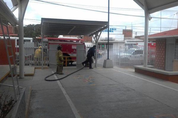 Evacuan a 183 niños en menos de 2 minutos durante simulacro de incendio