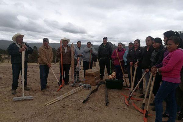 Ofrecen empleo temporal por rehabilitación de caminos en Guadalupe y Calvo