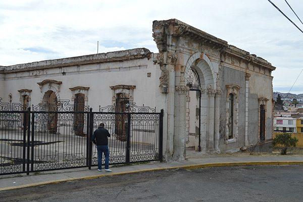 """""""Cuartel de Villa"""" en total abandono"""