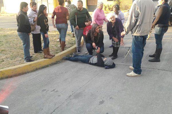 Auto embiste a niño en la Col. Reforma