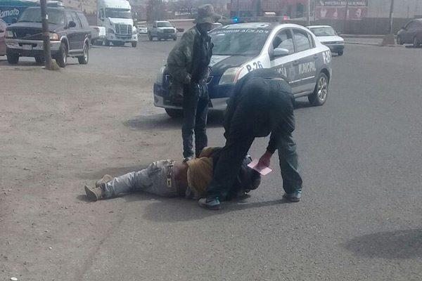 Atropellan persona enfrente del mercado en la Av. Niños Héroes