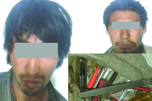 Detienen a dos por robo en Guachochi
