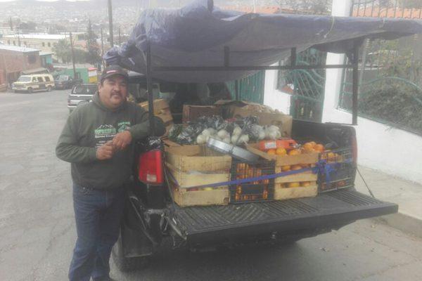 El incremento de los combustibles afecta a vendedores de fruta y verdura