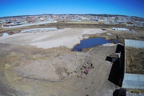 Inicia construcción de la primera etapa del Zócalo en Guachochi