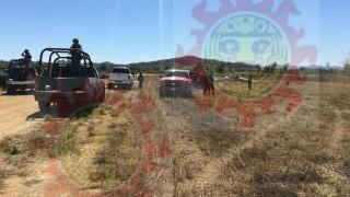 Ejército y estatales de Sinaloa situaron el lugar en el que Parralenses se accidentaron