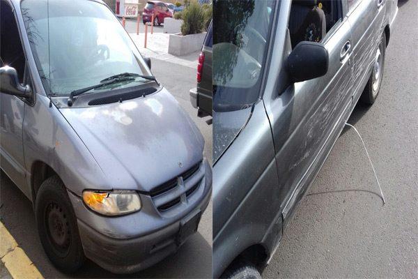 Choque en la avenida Pedro De Lille; conductor omitió el alto
