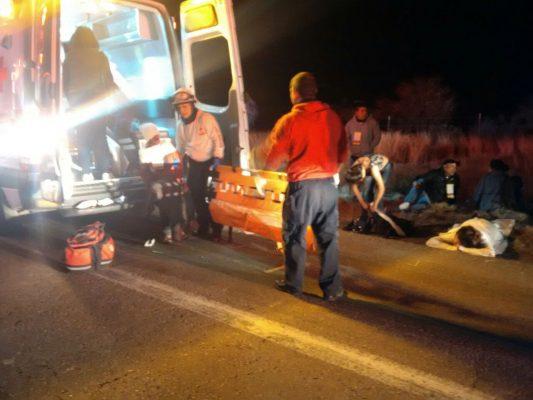 En total, 28 heridos y dos muertos en carreterazo cerca de Maturana/Algunos identificados