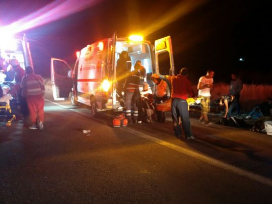 Aumenta a 50 el número de personas lesionadas que viajaban en el camión accidentado