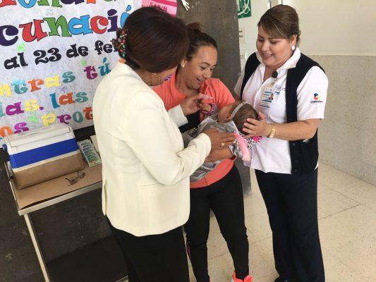 Inicia la etapa de vacunación dentro de la semana nacional de salud