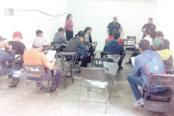 Inicia academia de Bomberos Voluntarios