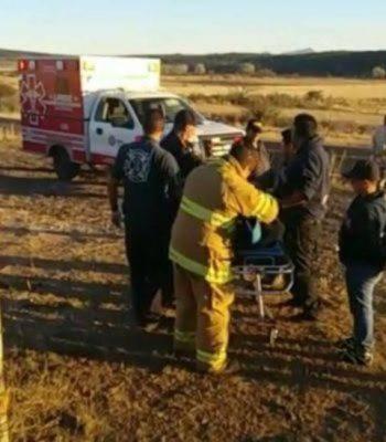Reportan grave accidente rumbo a Casita; 3 personas prensadas