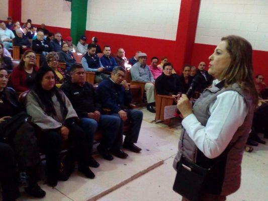 Se reúne la estructura priista con los precandidatos del partido en Parral