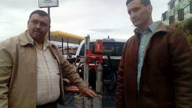[Video y Galería] Obtiene sindicatura muestreo de cemento en avenida Niños Héroes