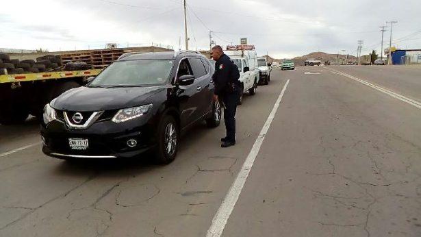 [Video] Policía municipal establece operativo para dar con el presunto agresor