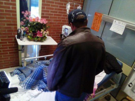 """Acude el """"Güero"""" a ver a la joven Yahaira C.P. Al Hospital General"""