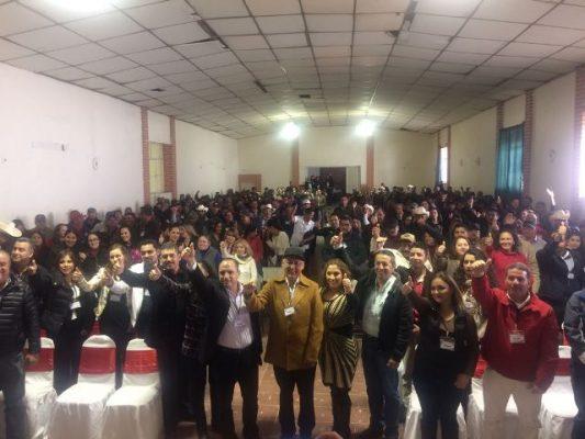Ratifican al Ingeniero Noel Chavez Velázquez como precandidato a la presidencia municipal por Guadalupe y Calvo en convención de delegados