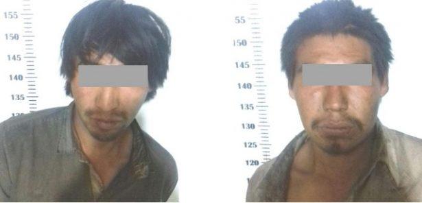Detienen en flagrancia a dos sujetos en el municipio de Guachochi a quienes se les aseguro artículos robados