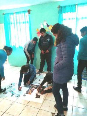 CEAVE y DIF realiza capacitación a niños, niñas y adolescentes de Guadalupe y Calvo