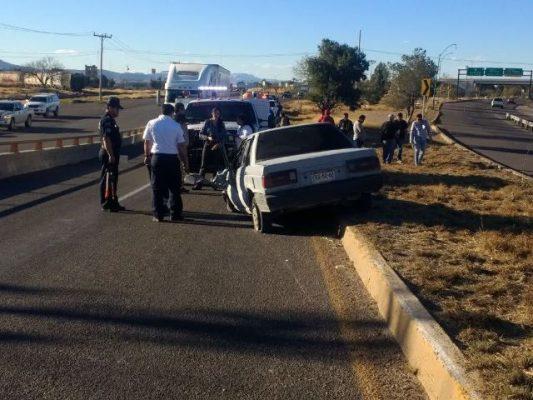 Fatal accidente sobre la Jiménez – Delicias, 1 muerto