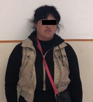 Supuesta amante de lo ajeno fue detenida