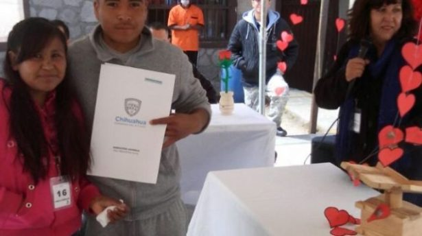 Organizan boda colectiva en Cereso de Guachochi