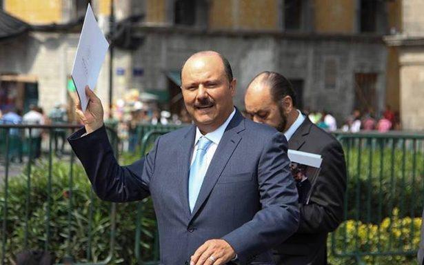 No existe orden para detener a César Duarte en EU