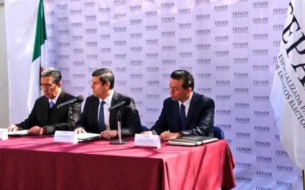 PRI denuncia ante FEPADE por delitos electorales al gobernador Javier Corral