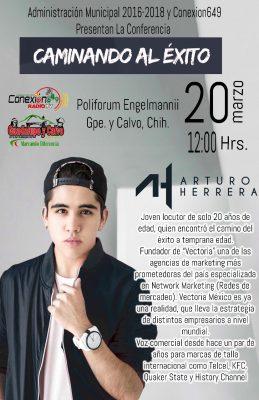 Joven locutor prodigio reconocido a nivel Internacional dará conferencia en Guadalupe y Calvo