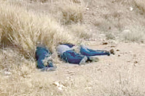 Tres hombres asesinados en Valle de Zaragoza