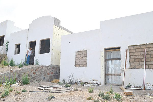 Invadieron más casas, ahora en Col. Pensiones