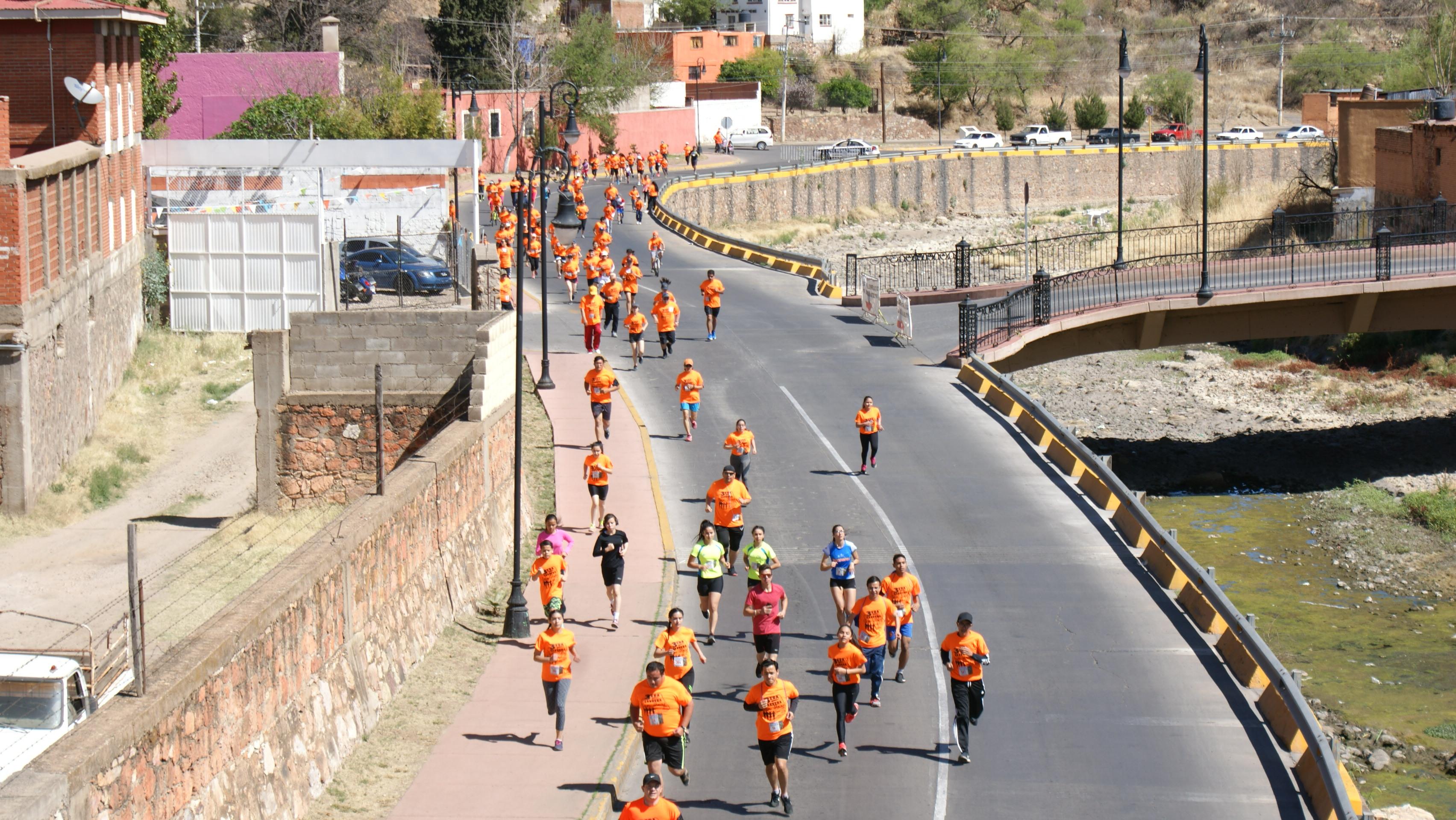 En la gráfica aspecto de la tercera edición de la carrera pedestre 5K San José, camina, trota y corre.