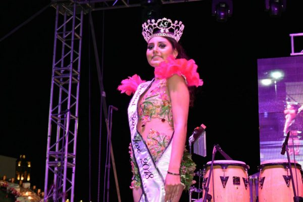 Samantha Martínez, Reina del Festival de San José