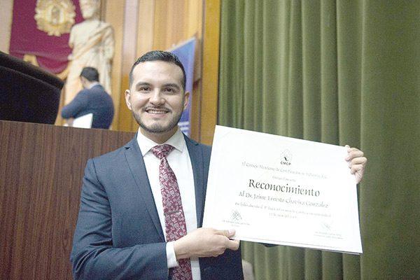 Felicidades al Pediatra Jaime Ernesto Chavira